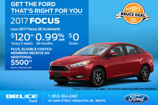 Save Big on the New 2017 Ford Focus Today!