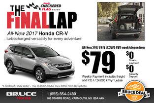 Drive Home the 2017 Honda CR-V!