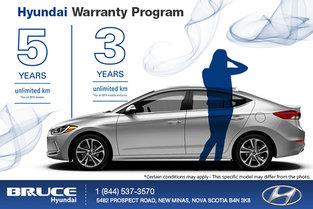 Take Advantage of the Hyundai Warranty at Bruce Hyundai