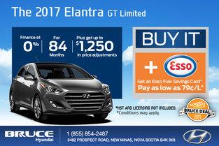 Save Big on the 2017 Hyundai Elantra GT Limited!