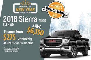 Get the 2018 Sierra 1500!