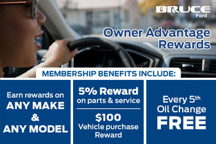 Bruce Ford Owner Advantage Rewards