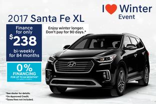 2017 Santa Fe XL LUXURY!
