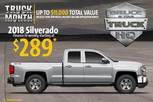 2018 Silverado 1500