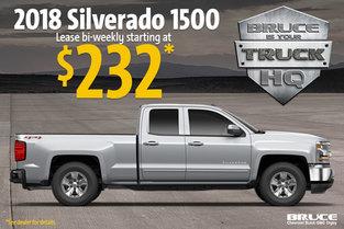 Lease the Chevrolet Silverado 1500