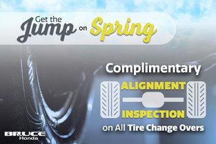 Bruce Honda - Complimentary Alignment Inspection