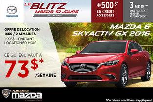 La nouvelle Mazda6 GX 2016 en location