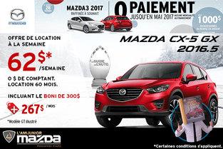 La nouvelle Mazda6 GX 2017 en location