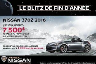 Nissan 370Z 2016 en rabais!