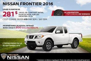 Nissan Frontier 2016 en location