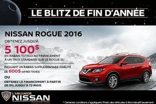 Nissan Rogue 2016 en rabais