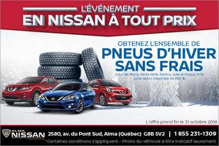 L'événement de vente mensuelle chez Nissan
