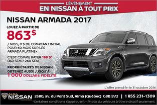 Nissan Armada 2017 en location