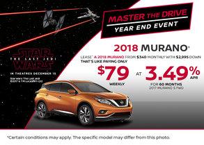 2018 Nissan Murano at Morrey Nissan