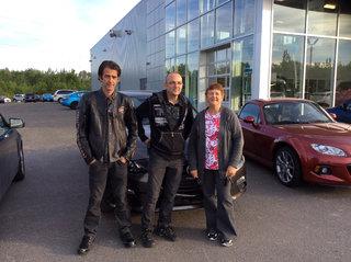 Référée par mon fIls Sylvain! de Prestige Mazda à Shawinigan