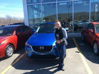 Merci Philippe de Prestige Mazda à Shawinigan
