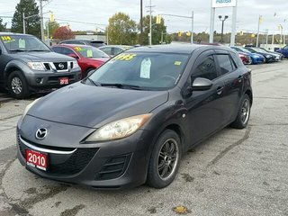 2010 Mazda Mazda3 MANUAL-AM/FM RADIO-AC
