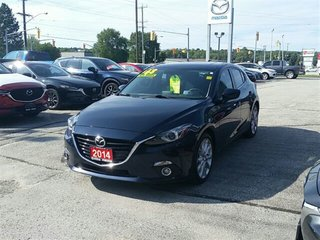 2014 Mazda Mazda3 **NEW PRICE**GT-NAV-ROOF-HEADS UP DISPLAY