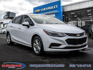 Chevrolet Cruze LT  - Bluetooth -  Heated Seats - $118.91 B/W 2018