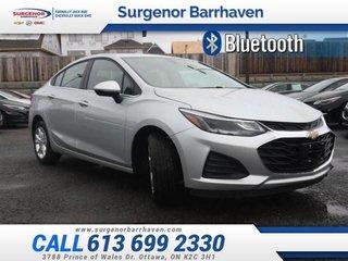 Chevrolet Cruze LT  - Heated Seats -  Bluetooth - $138.79 B/W 2019