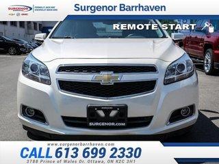 Chevrolet Malibu 2LT  - Bluetooth -  SiriusXM - $93.40 B/W 2013