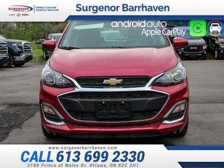 2019 Chevrolet Spark 1LT  - Android Auto -  Apple CarPlay - $107.70 B/W