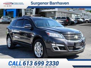 2015 Chevrolet Traverse LT w/1LT  - Bluetooth - $159.96 B/W