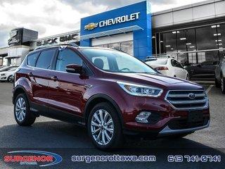 Ford Escape Titanium  - Leather Seats -  Bluetooth 2017