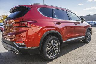 Hyundai Santa Fe LUXURY w/ Dark Chrome Exterior Accents 2019