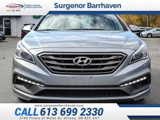 Hyundai Sonata Sport Tech  - Navigation -  Bluetooth 2016