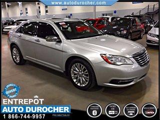 Chrysler 200 Limited AUTOMATIQUE TOUT ÉQUIPÉ JANTES 2011