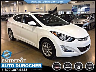 Hyundai Elantra AUTOMATIQUE JANTES  TOIT OUVRANT CAMÉRA DE RECUL B 2016