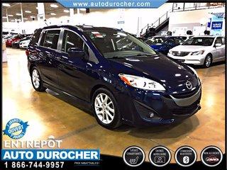 Mazda Mazda5 GT AUTOMATIQUE TOUT ÉQUIPÉ TOIT OUVRANT 2012