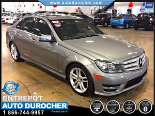 Mercedes-Benz C-Class C300 AWD CUIR TOIT OUVRANT GROUPE LIMITED 2013