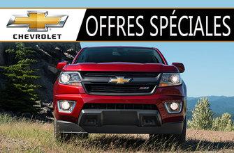 Promotions Chevrolet Camions et VUS