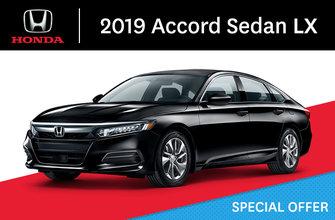 2019 Honda Accord Sedan LX CVT