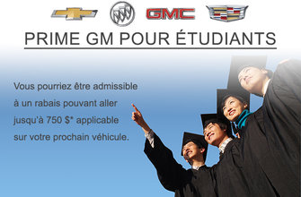 Prime GM pour étudiants