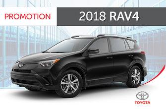 Toyota 2018<br>RAV4 FWD LE