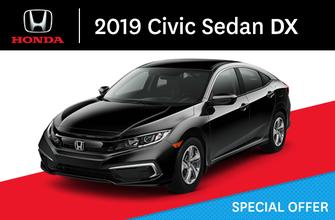 2019 Honda Civic Sedan DX manual
