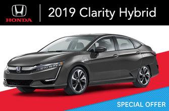 2019 Clarity hybride rechargeable e-CVT