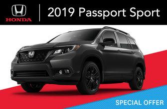 2019 Honda Passport SPORT Automatic