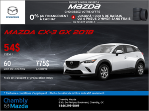 La Mazda CX-3 GX 2018