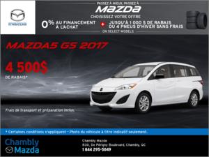 La Mazda5 GS 2017!