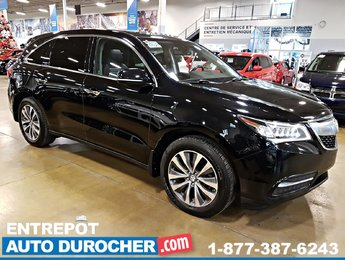 2015 Acura MDX 4X4 7 PASSAGERS - NAVIGATION - TOIT OUVRANT - CUIR