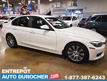 2014 BMW 3 Series 320i, AUTOMATIQUE, AIR CLIMATISÉ, SIÈGES EN CUIR