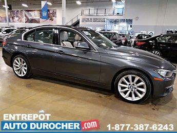2014 BMW 3 Series 328i xDrive 4X4 TOIT OUVRANT - NAVIGATION - Cuir -