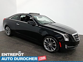 2015 Cadillac ATS Coupe Luxury AWD NAVIGATION - TOIT OUVRANT - A/C - Cuir