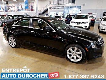 2014 Cadillac ATS AWD - 4cyl Gas Turbo - A/C - Cuir - BOSE Stereo