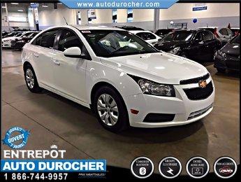 Chevrolet Cruze LT TURBO AUTOMATIQUE TOUT ÉQUIPÉ BLUETOOTH 2012