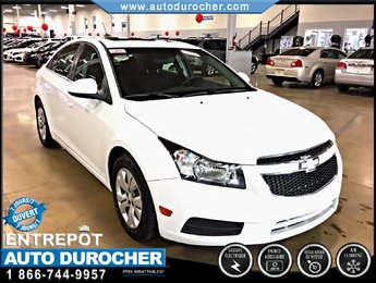 Chevrolet Cruze LT AUTOMATIQUE, TOUT ÉQUIPÉ 2012